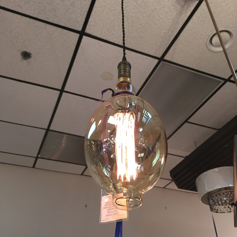 A photo in the grid hanging lights charlottesville lighting