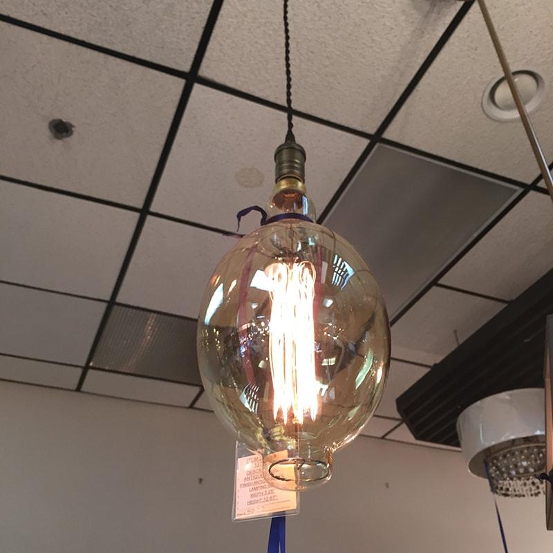 Hanging foyer light