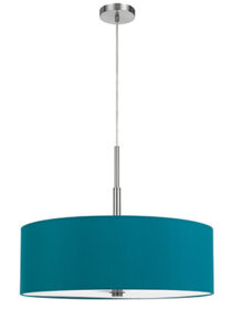Brightly Colored Light Fixture