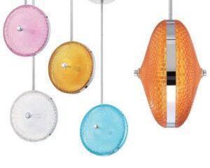 Colored Pendant Lights