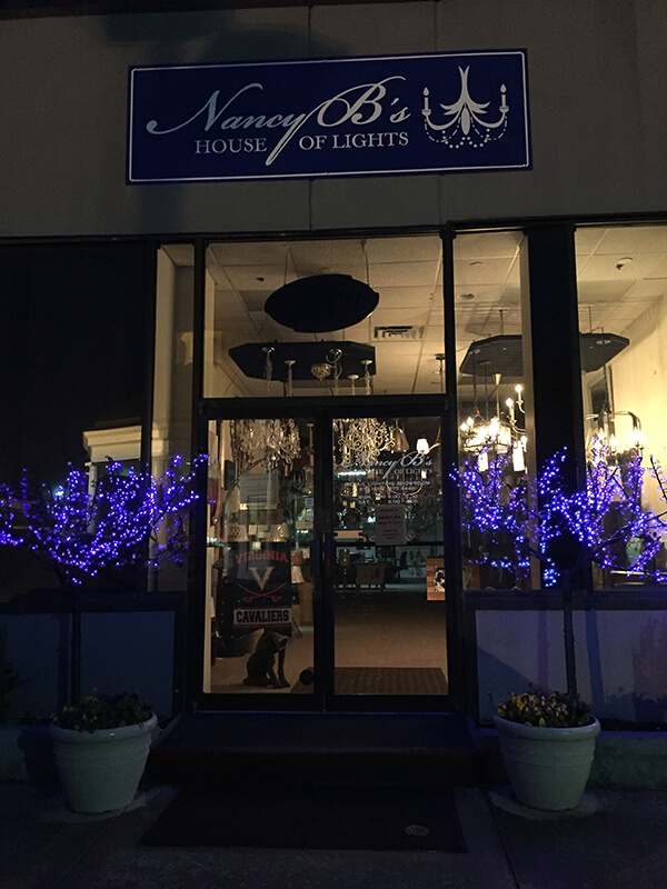 Charlottesville Furniture Store - Nancy B's House of Lights