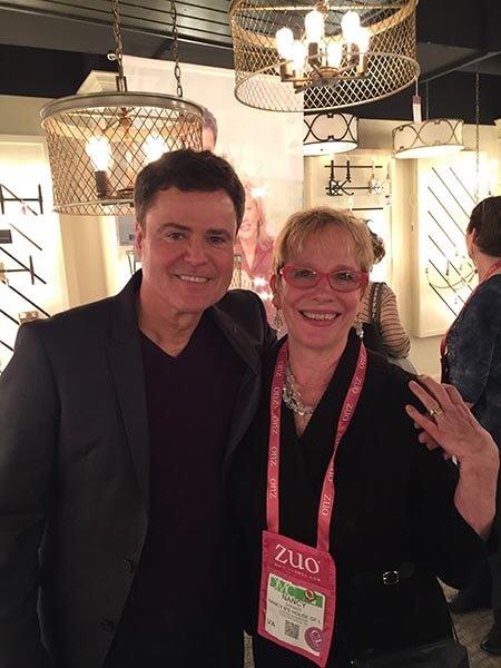 Donnie Osmond & Nancy Brewer