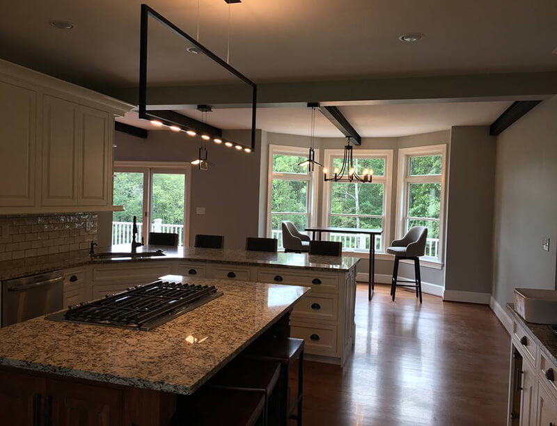 Customer Kitchen Lighting