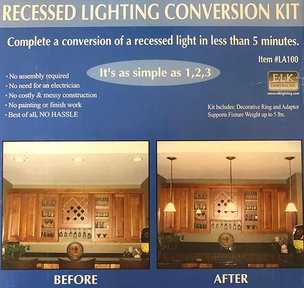 Recessed Lighting Conversion Kit
